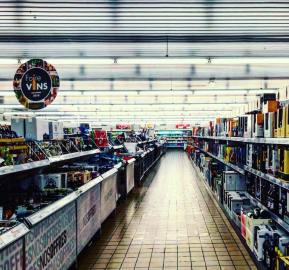 lost in a supermarket